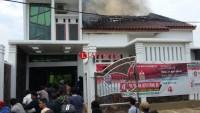 Rumah Caleg DPRD Kota Nyaris Ludes Terbakar