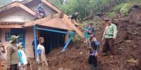 Rumah Warga Terdampak Longsor di Way Ratai Direlokasi