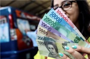 Rupiah Dibuka Melempem di Level Rp14.449/USD