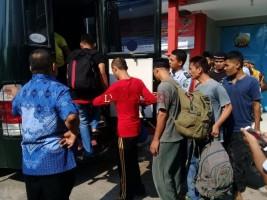 Rutan Krui Over Kapasitas,  15 Napi Dipindahkan ke Lapas  Kotaagung