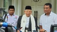 Saat Safari Ke Lebak, Ma'ruf Amin Perkenalkan Hologram Jokowi-Amin