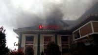 Saksi Melihat Sumber Api Berasal dari Ruang Tunggu Tamu Wabup