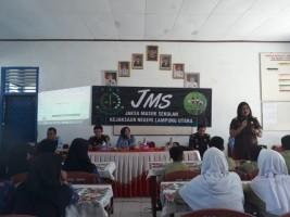 Sambangi SMPN 3 Kotabumi, Kejari Kotabumi Beri Penyuluhan Hukum pada Siswa