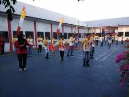 Sambut Hari Kemerdekaan dan Asian Games, Puluhan Penghuni LP Kotabumi Ikuti Senam Poco-poco