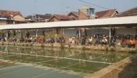 Sambut HUT Ke-73 RI, Warga Kotabumi Gelar Lomba Memancing Ikan Mas