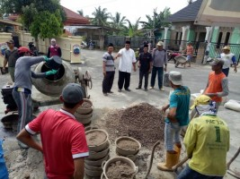 Sambut Musrenbang, Desa Hatta Giatkan Gotong Royong