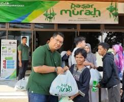Sambut Ramadan, BPJSTK Bandar Lampung Bagikan 600 Paket Sembako Murah