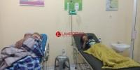 Sampel Darah Korban Keracunan diuji Laboratorium