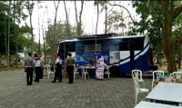 Samsat Adakan Pelayanan SIM Keliling <i>Goes to Campus</i> ke Unila