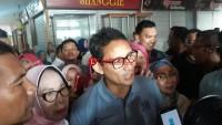 Sandiaga Uno Tak Punya Target Presentasi Menang di Lampung