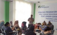 Sasar Pelaku UMKM, BPJSTK-PLUT UMKM Provinsi Lampung Gelar Sosialisasi Program Jaminan Sosial