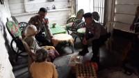 Sat Sabhara Polres Way Kanan Salurkan Sembako kepada Kaum Duafa