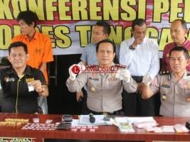 Satresnarkoba Polres Tanggamus Bekuk Pengedar Narkoba
