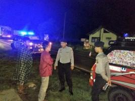 Satsabhara Laksanakan Patroli Malamdi Daerah Rawan