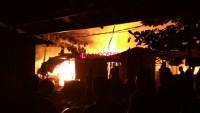 Satu Rumah Warga Pekon Sukarame Ludes Terbakar