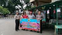 Satuan Binmas Polres Metro Rutin Sambangi Warga
