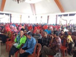 Satukan Langkah, Seribuan Petani Hadiri Rembug Madya Perhiptani Lamteng