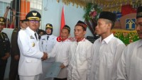 75 Warga Binaan Rutan Krui Kelas II B dapat Remisi