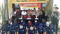 Sebulan, Polres Lampung Utara Ungkap 22 Kasus dengan 23 Tersangka
