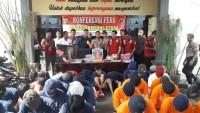 Sebulan, Polres Lampung Utara Ungkap 43 Kasus Tindak Kejahatan