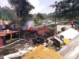 Sehari, Dua Kebakaran Terjadi di Bandar Lampung