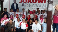 Sekber Relawan Siger Bersatu Lampung Menangkan Jokowi