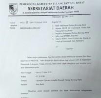 Sekda Tubaba Wajibkan Pejabat Ikut Apel Pertama Masuk Kerja
