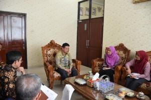 Sekdakab Lamtim Terima Audiensi BI Perwakilan Lampung