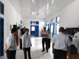Sekkab Way Kanan Sidak Sejumlah Kantor SKPD