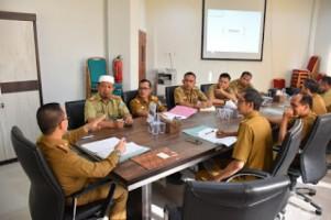 Sekkab Way Kanan Pimpin Rapat TAPD dan Pengelolaan DAK Fisik dan Nonfisik