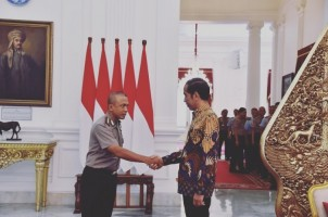 Selamat! Rudi Setiawan Dipromosikan Jadi Jenderal Bintang Satu