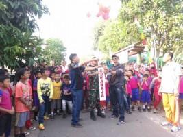 Semarakkan Kemerdekaan, Desa Sukaraja Gelar Jalan Sehat