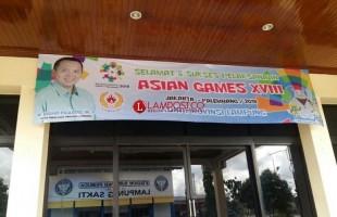 Semarakkan Asian Games, KONI Lampung Akan Tebar Banner dan Spanduk
