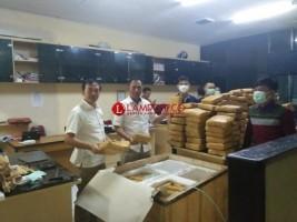 Seminggu, Polda Lampung Amankan 700 Kg Ganja Tak Bertuan
