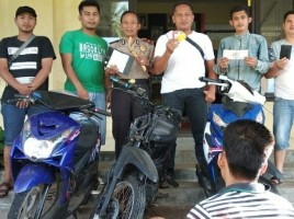 Sempat Kabur ke Batam, DPO Pencuri Sepeda Motor Ditangkap Polisi
