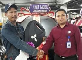 Sempat Tak Percaya, Dede Ambil Hadiah Xpander di Chandra