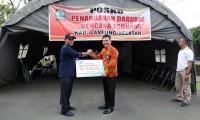 Serikat Karyawan Taspen Serahkan Bantuan Uang Tunai Rp70 Juta untuk Korban Tsunami