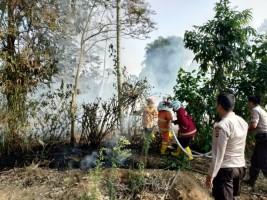Setengah Hektar Lahan Masyarakat Lambar Terbakar
