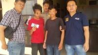 Setoran Pakai Uang Palsu, Dua Pemuda Ini Dibekuk Petugas