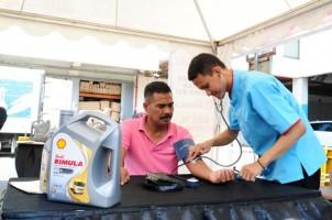 Shell Rimula Gelar Periksa Kendaraan dan Kesehatan Gratis Bagi Pengemudi Truk dan Pikap