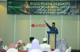 Sheraton Semakin Diminati Masyarakat Lampung untuk Berbuka Puasa