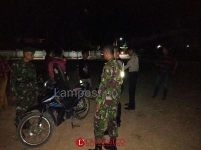 Siaga, TNI Polri Patroli Siang Malam di Mesuji
