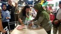 Sidak Pangan, BPOM-JKPD Temukan 40 Kg Daging Kerbau Asal India Dijual di Pasar Tugu