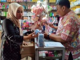 Sidak Pasar Kalianda, BPOM Tak Temukan Kosmetik Berbahaya