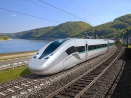 Siemens Hadirkan Konsep Kereta Cepat Baru