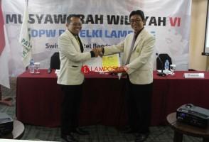 Sigit Mariyanto Kembali Terpilih Sebagai Ketua Patelki Lampung