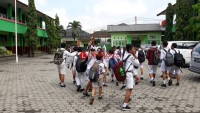 Siswa SD Didorong Ikuti USBN dengan Riang Gembira