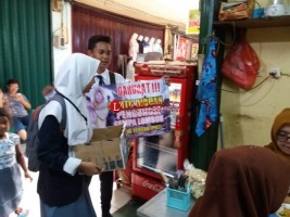 Siswa SMA N I Gunungsugih Ikut Galang Dana Peduli Lombok