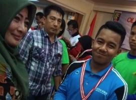 Siswa SMKN 2 Terbanggi Besar Wakili Lampung di O2SN Nasional Cabor Karate