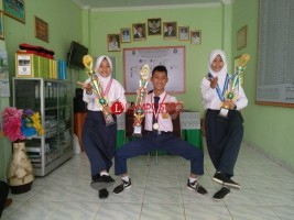 Siswa SMPN 5 Bandar Lampung Juara Pencak Silat Nasional